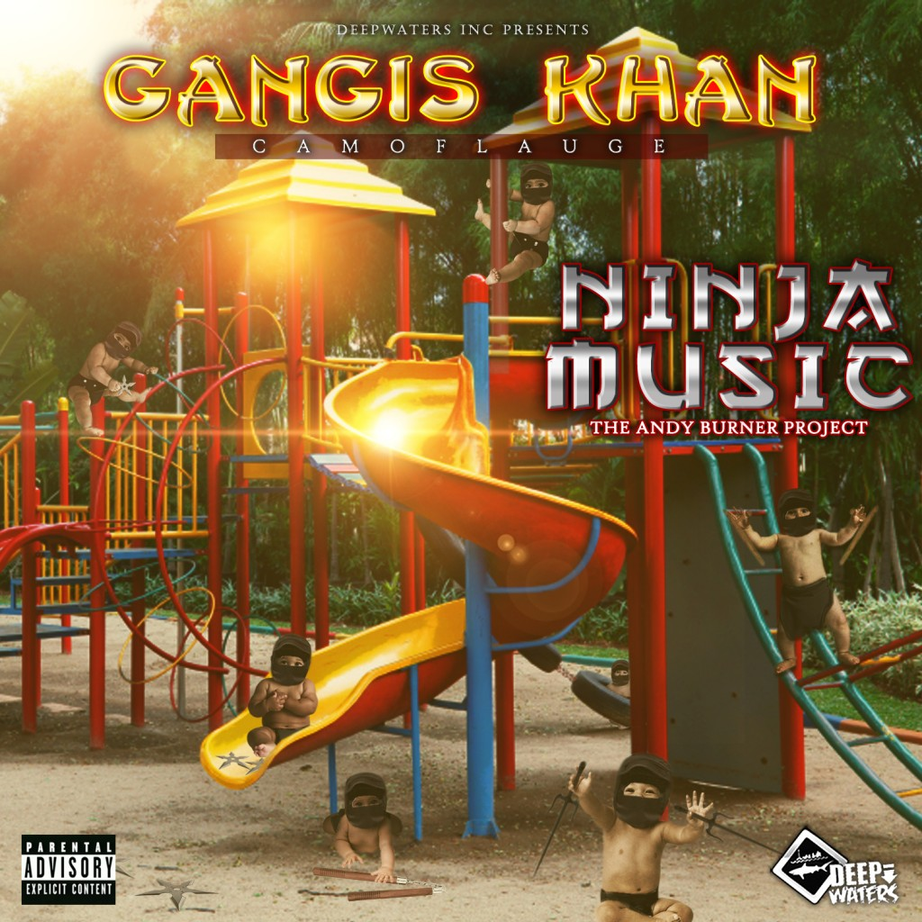 camoflauge, gangis khan, ninja music