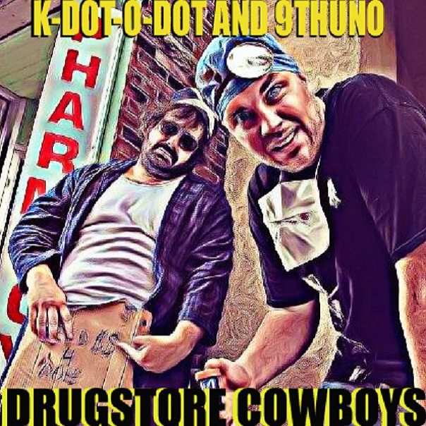 k-dot-o-dot, 9th uno, drugstore cowboys, dj shamann, arkeologists